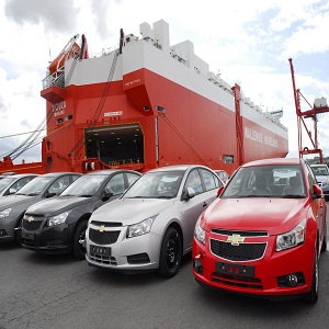 shipping car from USA to Australia